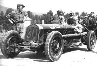 Achille Varzi alla Targa Florio del 1930