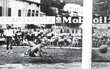 un gol di Levratto