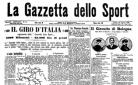 La Gazzetta annuncia il primo Giro d'Italia