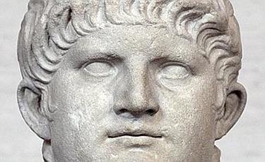 un'altra statua di Nerone