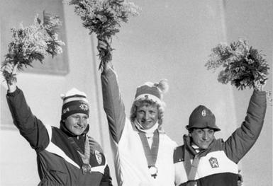 Marja-Liisa Hämäläinen sul podio più alto (da hiihtoliitto)
