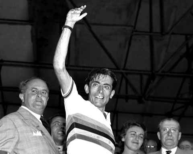 Coppi campione del mondo a Lugano