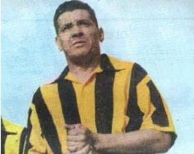 Varela con la maglia del Peñarol