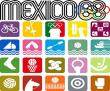 Mexico 68 (elaborazione originale)