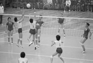 la squadra giapponese durante la finale (© PA Photos)