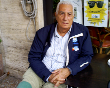 Eraldo Pizzo oggi (© Danilo Francescano-Storie di Sport)