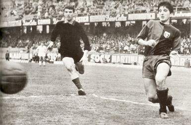 il primo gol di Gigi Meroni