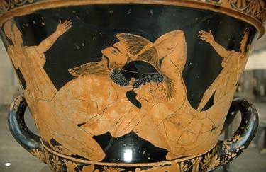Eracle ai giochi Istmici (© Louvre)