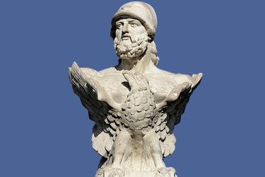busto di Cimone a Larnaca (© Markus Leupold-Löwenthal)