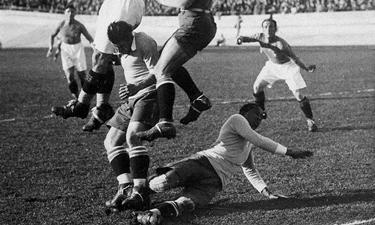 Andrade (a terra) contro l'Italia (1928)