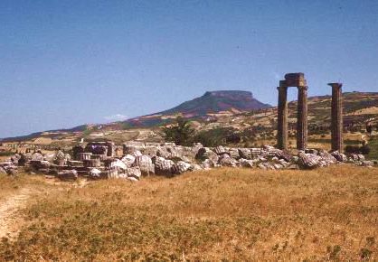 il tempio di Zeus a Nemea (© Boston University)