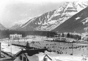 lo stadio olimpico di Chamonix (© Olympic.org)