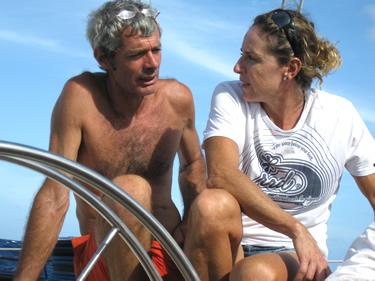 Alessandra con Vittorio Malingri (© Sensini)