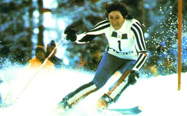 Claudia Giordani in azione