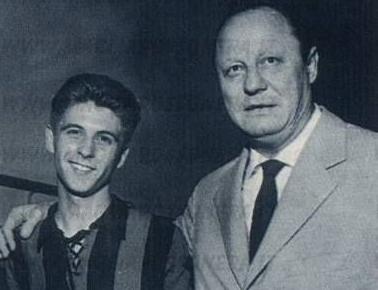 Gianni Rivera e Gipo Viani