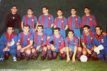 la formazione del Barcellona 1959-60