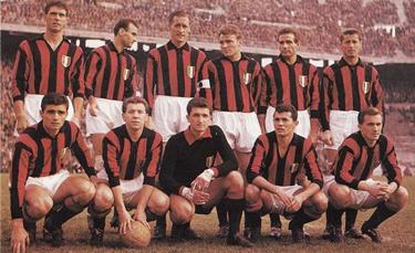 la formazione del Milan 1959-60