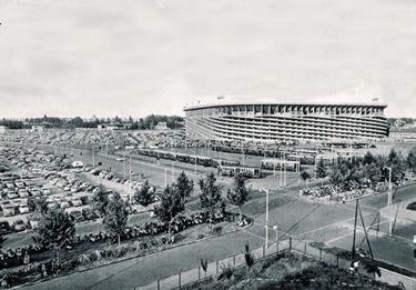 lo stadio di San Siro nel 1959