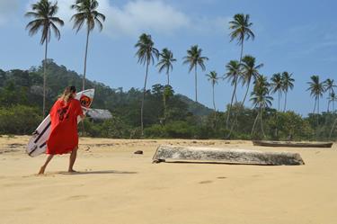 sulle spiagge di Guadalupe (© Sensini)