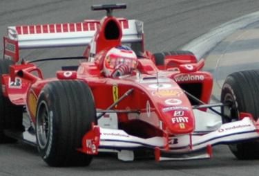 Barrichello su Ferrari