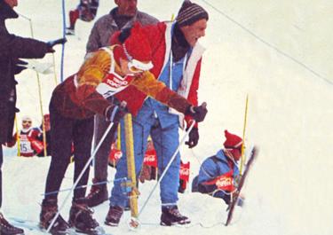 Marzo 1965: Gustav, adolescente, al Trofeo Topolino