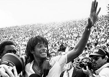 il trionfo al Roland Garros (© AP Photo)