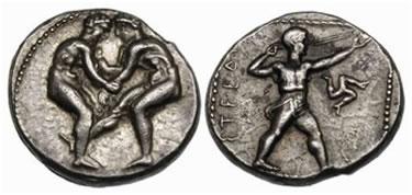 AR Statere di Aspendos (Estwediis) (g 10,93). Questa emissione risale al 400–370 a.C.