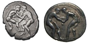Due varianti del recto (410 e 370 a.C.)