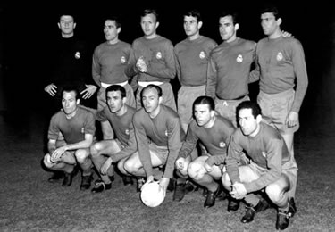 il Real Madrid 1961-62