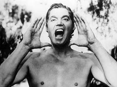 il tipico urlo di Johnny-Tarzan