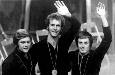 oro nella piattaforma a Monaco '72