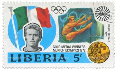 un francobollo dedicato all'Angelo Biondo