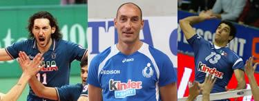 Andrea Zorzi, Marco Bracci e Andrea Giani