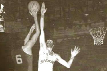 Enrico Bovone in azione