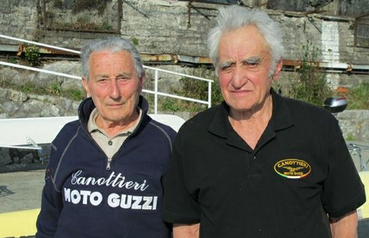 Franco Faggi (a sinistra) con Giuseppe Moioli (© Red)