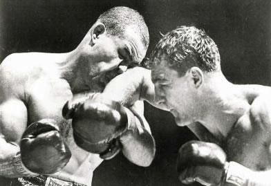 Rocky Marciano contro Joe Louis