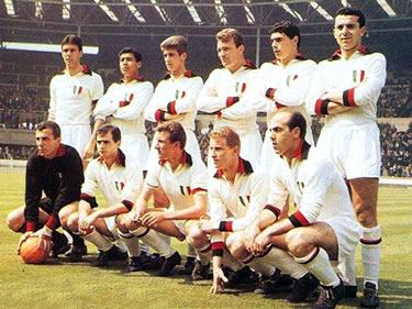 il Milan campione d'Europa 1962-63