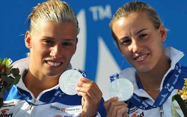 Francesca Dallapé e Tania Cagnotto