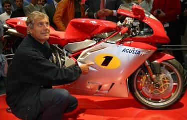 Giacomo Agostini oggi