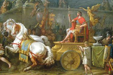 Il Trionfo di Lucio Emilio Paolo, Vernet 1789