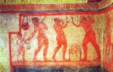 Tomba della Scimmia-lanciatore di giavellotto