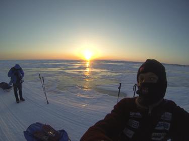alba sul ghiaccio (© Marco Berni)