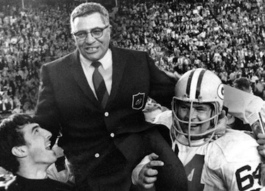 Il leggendario Vince Lombardi @Getty Images