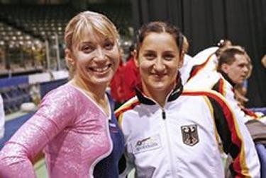 Irina Karavayeva e Anna Dogonadze