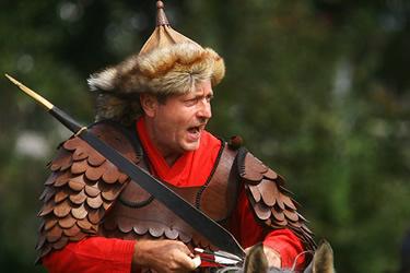 Kassai in costume tradizionale