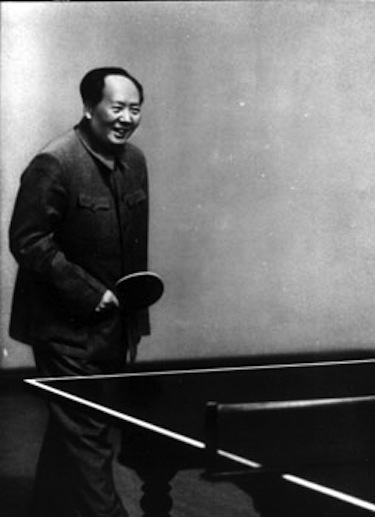 Mao Tse-Tung era un grande appassionato di ping pong @Getty Images