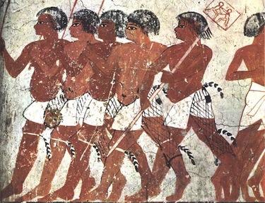 La raffigurazione della tomba di Tyanen