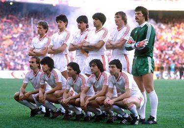 lo Steaua campione d'Europa 1986