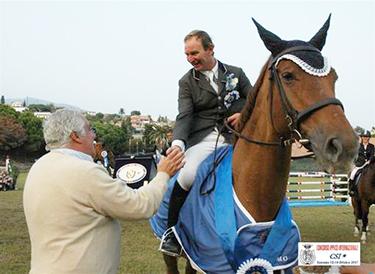 Silvano Graziotti su Star and Stripes vince il Derby dei Fiori 2007