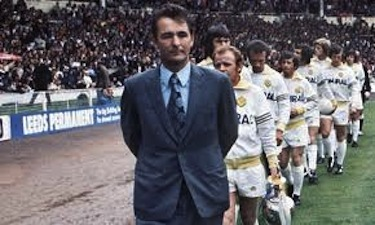 Clough alla guida dl Leeds United (Getty Images)